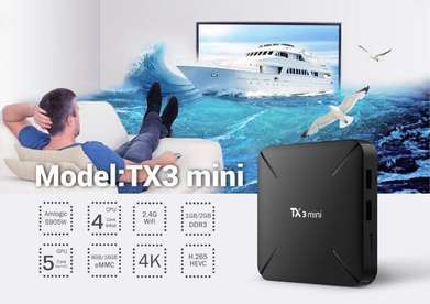 Tv Box TX3 mini H Ram 2GB Rom 16GB Android Versi 7.1