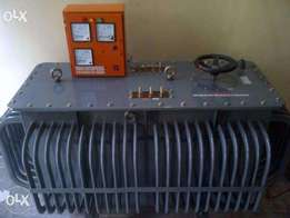 200KVA Three Phase Manual Voltage Regulator Oil cool