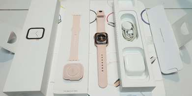 Apple watch series 4 44MM lengkap mulus like new