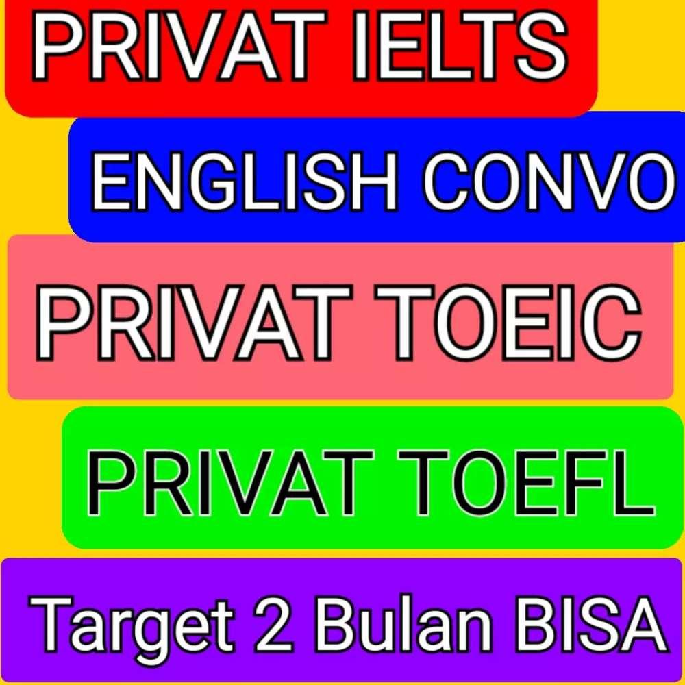 Les Privat Bahasa Inggris Ielts Toefl Toeic Conversation Bandarlampung Jasa 814468158