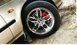 SSD Rims. 15inches with Tyres