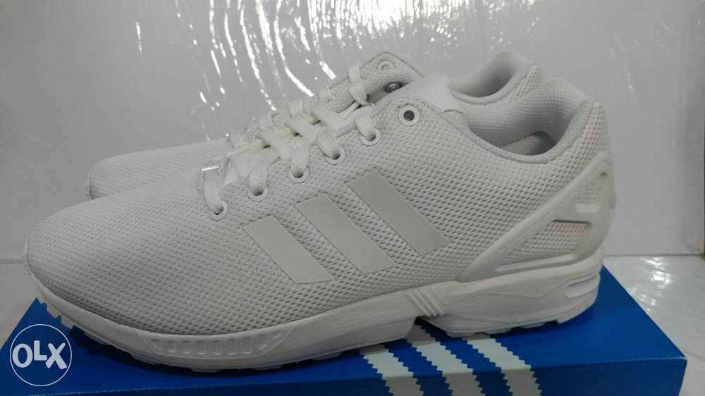 detailed look 10a67 41230 Adidas Originals ZX Flux White Size 11 not Nike in Parañaque ...