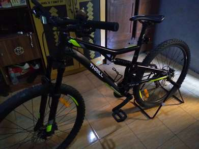 thrill oust 1.0 sepeda gunung mtb cross country