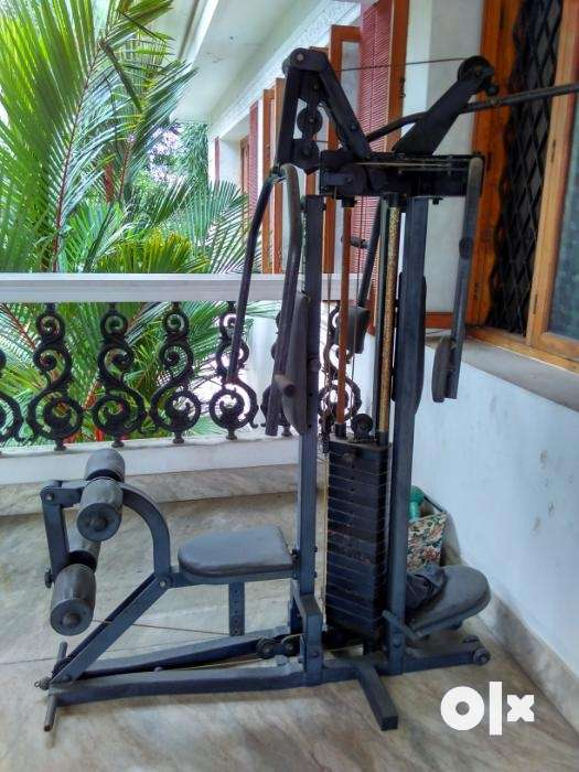 Multi home gym astrofit used for sale at ernakulam gym