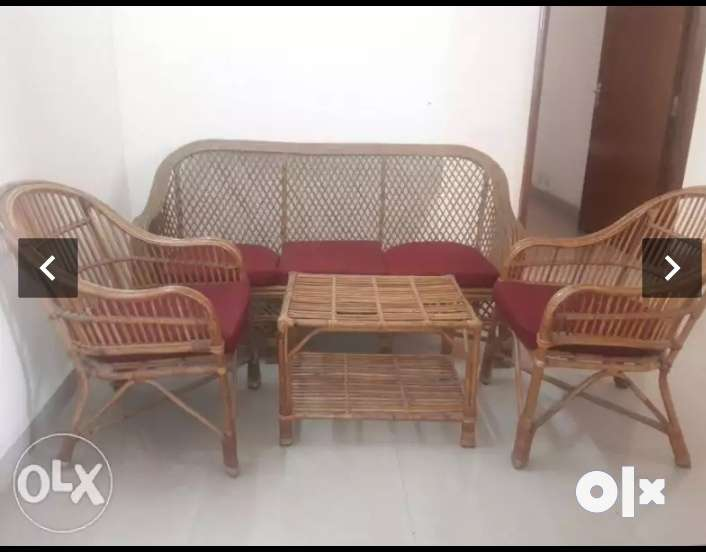 Groovy Brown Cane Sofa Set Very Strong Made Of Bet Wood Sofa Gmtry Best Dining Table And Chair Ideas Images Gmtryco