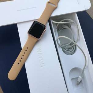 Apple Watch 1st gen 38mm Rose Gold rose