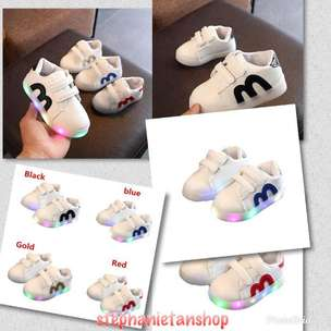 IC18 - Four Colors Baby Pre-Walker Soft Bottom Sport Shoes