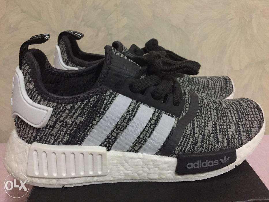 6d25073f5 Adidas NMD R1 Womens Glitch Grey size 55 US not Ultraboost Yeezy in ...