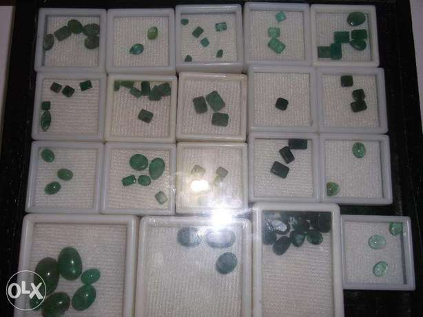 Emerald (Zamurd) Of Different Origins From 500 To 6000 Per Carat