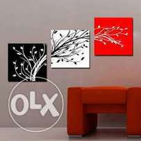 contemporary wall mural for empty wall space decoration