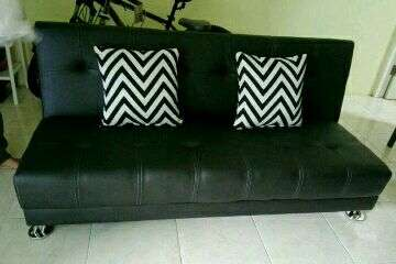Sofa bed Emerald black
