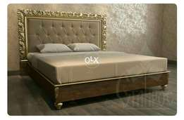 Bed set modren style hend made style. .