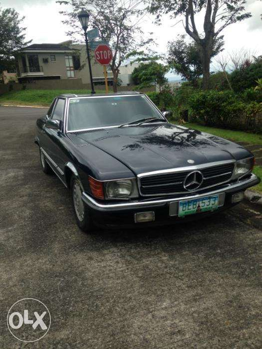 Mercedes Benz pagoda roof 560SL final year 1989 model of ...