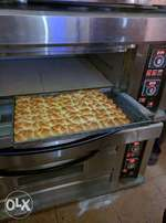 New pizza and bakery fryer Commerical single deck oven full size