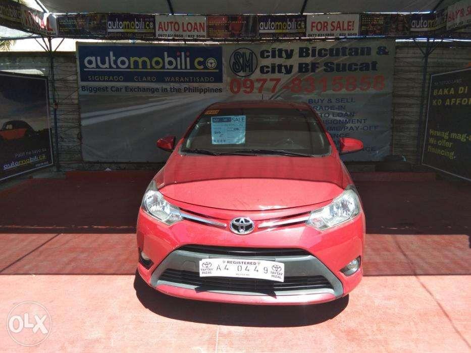 87e97343cc 2018 Toyota Vios Red AT Gas Automobilico Sm City Bicutan in Las ...