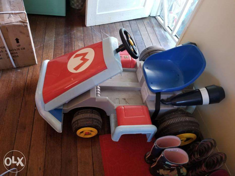 Electric Car Mario Kart Like New In Time For Xmas Super
