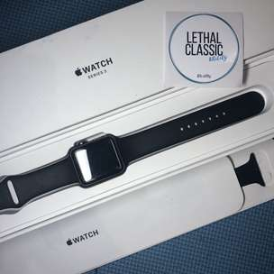 Apple Watch Series 3 42mm Space Gray Second Fullset
