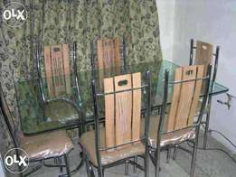 Chinese 6 seater dining Set