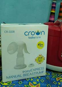 pompa asi crown babycare