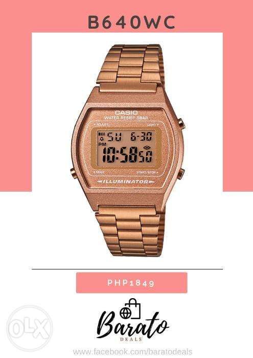 5831597ebb01 Casio Vintage Watches in Manila