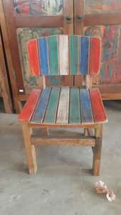 baby chair wood boat size 32x32x30/53