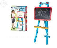 3-in-1 Alphabet Learning Standing Easel Board