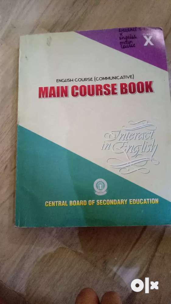 English Main Course Book Class 10