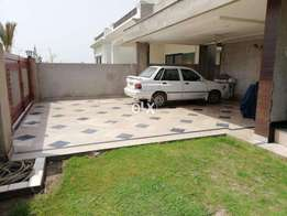 All real picture 23-Marla double unit corner house in Dha