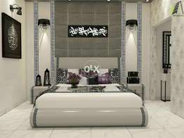 Versachi curved bedset ...deco style