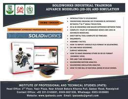 3d Solid works Cad Course Islamabad Govt recognized education Govt