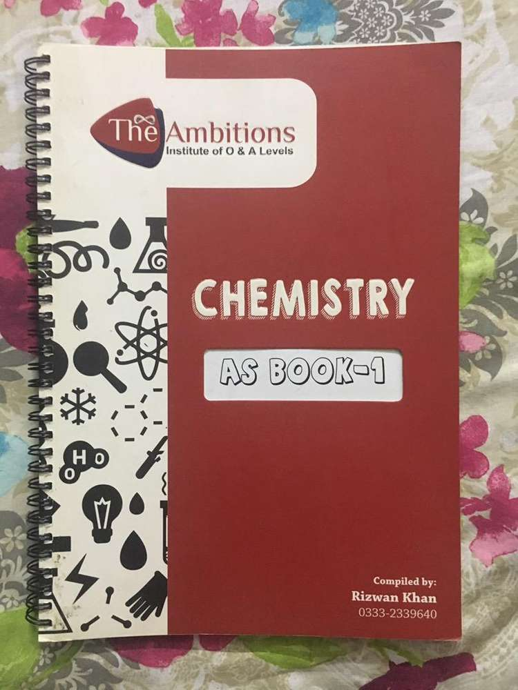Chemistry Book - Books & Magazines for sale in Sindh   OLX