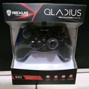 delivery game pad/gamepad rexus gladius gx2 multi platform - joysticks