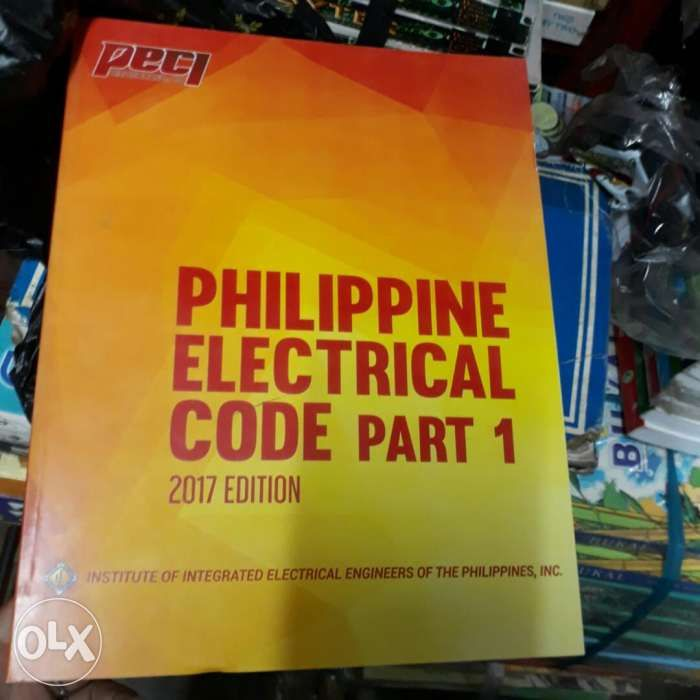 Philippine Electrical Code Of The Philippines 2017