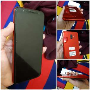 Samsung j6+ mulus like new (red edition)