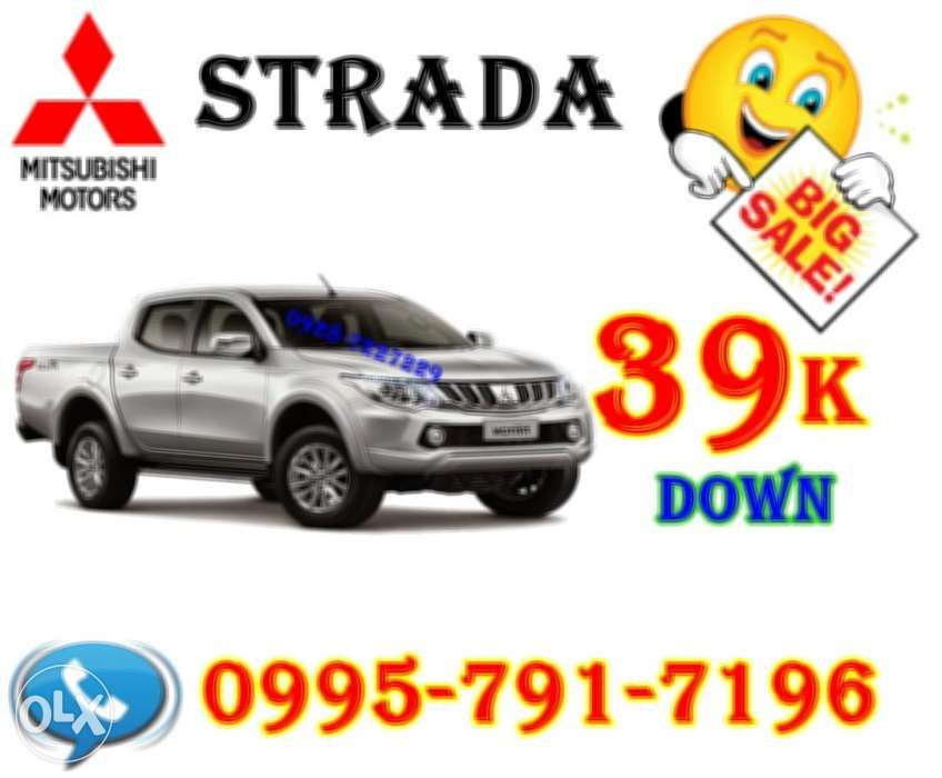 2018 Mitsubishi Strada Pickup 39k Best Deal Vs Montero