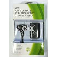 Battery Pack+Charging Cable 4800mAh 2in1 for Xbox360 Wireless Controlr