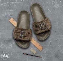 f34a2804eec SALE NEW AUTHENTIC PUMA Fenty by Rihanna FU Fur Slides Sandals Unisex