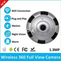 ip wireless panoramic fishcamera v380 free delivery in multan