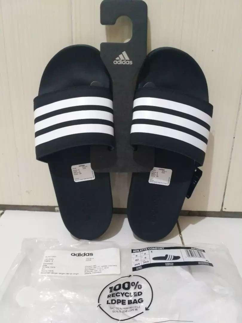 Sandal Adidas Adilette Comfort Original Fashion Pria