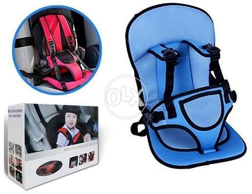 Multi Function Baby Car Seat Cushion With Safety Belt 0