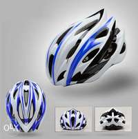 GIANT Ultra Light Bicycle Helmet - Large - Black, White, Yellow, Red
