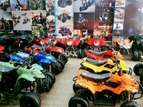 Spider print hand guarded 107 cc atv quad bike for sell deliver all pk