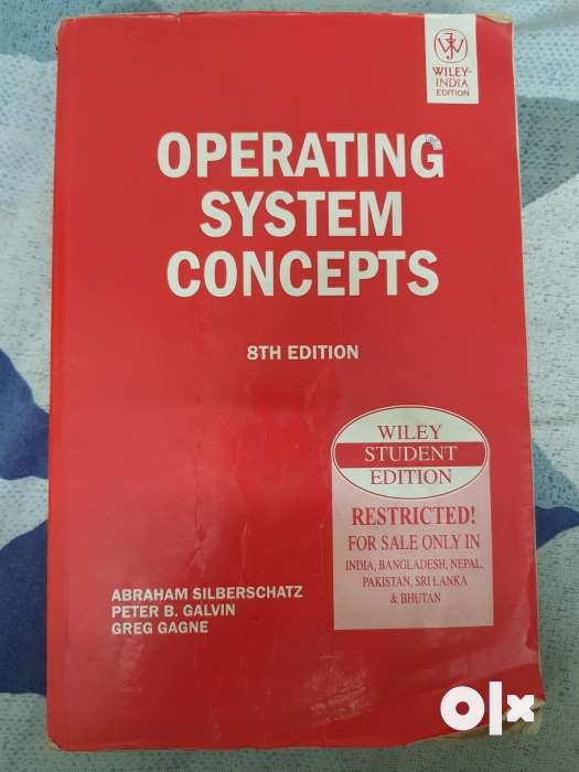 Operating System Book By Galvin 8th Edition