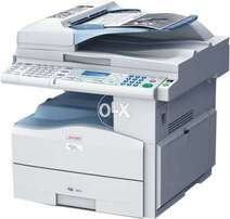 Small work photocopier with printer scanner