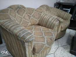 5 seater sofa with Molty Foam warranrty