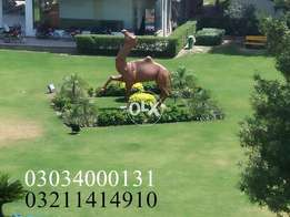 Bahria Orchard ten Marla plot onground facing park 224