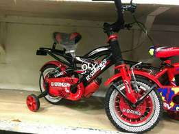 Kids small cycle with side tyrea