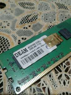 memori pc ddr3 4gb bekas pke normal