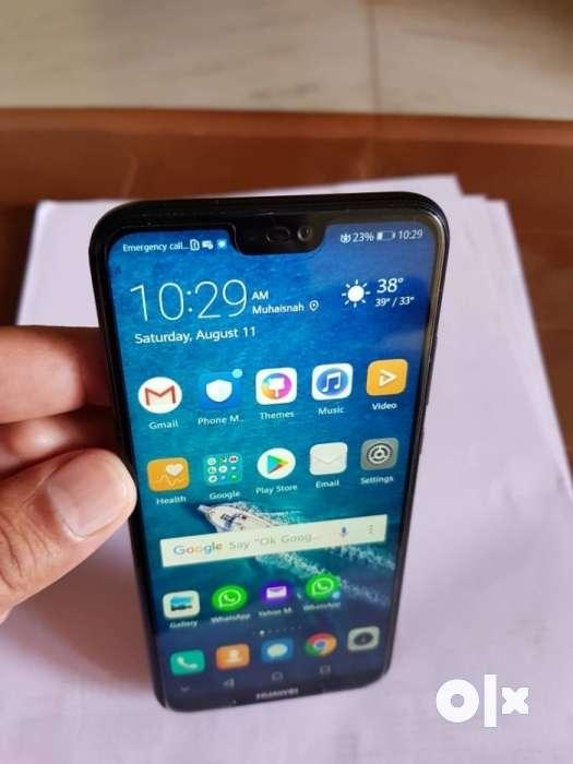 Huawei Nova 3e,4gb 64gb, dual rear camera 16+2 mp - Mobile