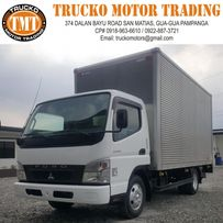 1ae70c57b54c54 sponsored Fuso Canter Wide Aluminum Closed Van 14ft with Lifter Japan  Surplus